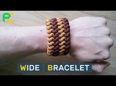 Tricolor Paracord Bracelet by Cetus 550 - YouTube