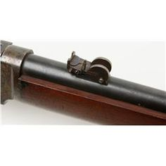Rare special order Winchester Model 1876 saddle ring carbine showing ultra-desirable case hardened