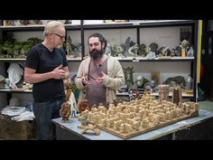 """WETA Workshop Sculptor Shows Off Incredible Prototype For """"Labyrinth"""" Board Game - Neatorama"""