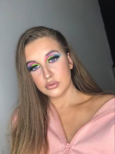 Colorful Eye Makeup, Becca, Makeup Looks, Make Up, Photo And Video, Eyes, Instagram, Fashion, Maquillaje