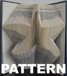 Book Folding Pattern -Starfish + Free Instructions