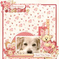 Dog-gone Adorable - Scrapbook.com