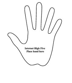 High five, it's friday!