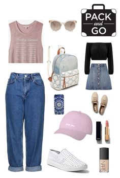 """""""Clumsy & Upper"""" by xcelestex on Polyvore featuring Topshop, Express, Anita & Green, Steve Madden, Keds, Red Camel, Chanel and NARS Cosmetics"""