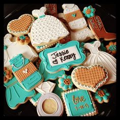 Image result for country bridal shower cookies pinterest