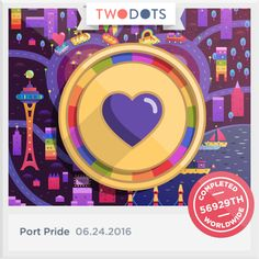 There's no better treasure than sharing the Token of Love with you. - playtwo.do/ts #TwoDots