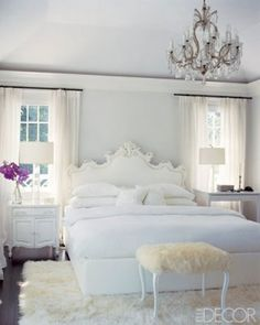The Decorista-Domestic Bliss: white done right. with tiny bits of color