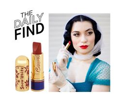 """""""Daily Find: Bésame Lipstick"""" by polyvore-editorial ❤ liked on Polyvore featuring beauty, DailyFind and beautyfind"""