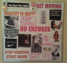 motivation board :)