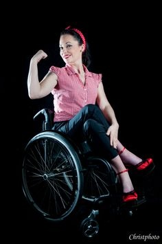 Pin up  photographe https://www.facebook.com/christlord28?fref=ts>>> See it. Believe it. Do it. Watch thousands of spinal cord injury videos at SPINALpedia.com