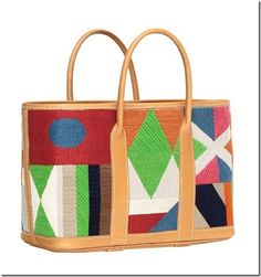 From Absolutely Needlepoint blog. Love this bag!