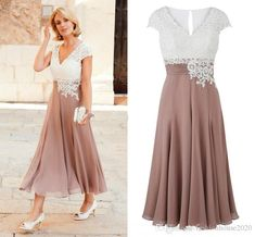 Never miss the chance to get the best mothers dress for wedding,mothers dressesand mothers of the bride on DHgate.com. The cheap 2017 champagne mother of the bride dresses v neck white lace applique beads cap sleeves tea length plus size wedding guest gowns is for sale in fashionhouse2020 and buy it now!