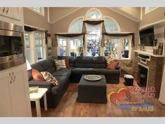 New 2015 Kropf Industries Canadian Series Park Models at Lovesick Lake RV Sales Home, Small Spaces, Tiny Spaces, Park Model Homes, Tiny House Living, Small House Plans, House, Model Homes, Little Houses