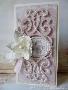 Gallery of handicrafts: Pudrowy róż