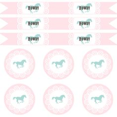 Free Cowgirl Party Printables - Adorable WANTED printable sign also!