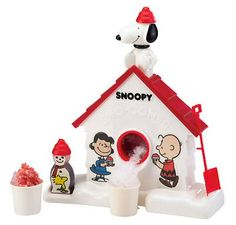 Snoopy Snow Cones - best ice texture Ever!