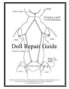 Doll repair guide.