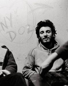 Bruce Springsteen at Max's Kansas City, January 31, 1973.