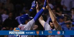 SPORTS And More: @MLB @ChicagoCubs -2- @NYMets -5- Final