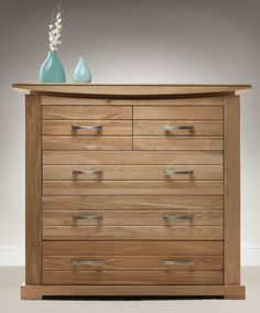 Tokyo Solid Oak Chest of Drawers www.oakfurnitureland.co.uk