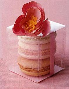 Macarons souvenir wedding, birthdays or tea pot!
