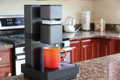 BRUVELO: Smart, WiFi-Connected Pour-Over Coffee Brewer. by Dustin Sell