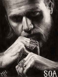 This is my latest hand drawing of Charlie Hunnam (Jax from the sons of Anarchy) 2015 to see more of my work you can visit my intagram: mhh3dartist or my website: http://mhh3dartist.wix.com/mariehelenehebert