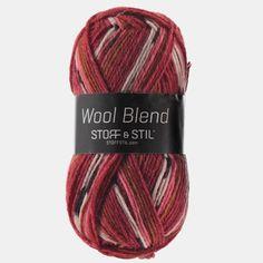 Knitting yarn wool blend terracotta mix - Stoff & Stil
