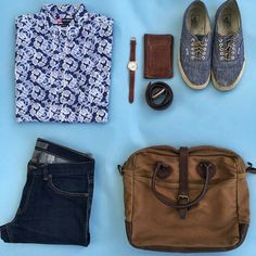 Outfit grid - Summer casual