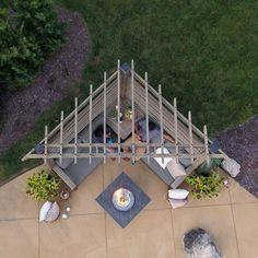 Backyard Projects, Backyard Patio, Backyard Landscaping, Backyard Ideas, Landscaping Ideas, Garden Ideas, Patio Ideas, Backyard Seating, Backyard Planters