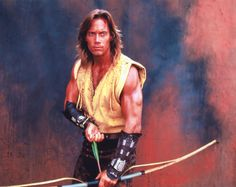 Kevin Sorbo, best known for Hercules and Andromeda.