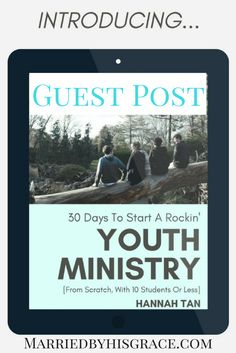 Introducing Tansquared Youth Ministry EBook.