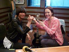 [Champagne]川上洋平2012/4/16 JFN「STAR★ONCE」ゲスト生出演 「Kids」のO.A.中、本当にギターを教えてくださいました!!証拠の「約束」!!!