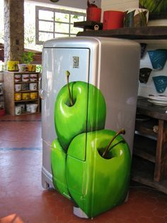 geladeira pintada - Pesquisa Google