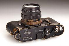 Leica M3 black paint, 1959