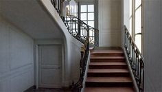 Private staircase of the King at the Petit Trianon