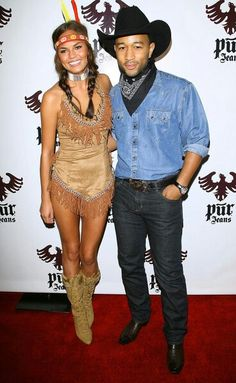 Aaahhh, indian and cowboy outfit, LOVE IT