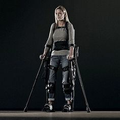 Fully operational exoskeleton from Ekso Bionics- inspired proof technology can help us overcome our human limits Assistive Technology, Medical Technology, Wearable Technology, Technology Gadgets, Science And Technology, Future Tech, Cool Tech, Electronics Gadgets, Olympians