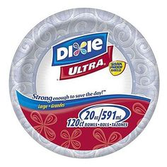 Dixie Ultra 20oz Paper Bowls - 120ct by Dixie.   http://smile.amazon.com/dp/B003DKPJAU/ref=wl_it_dp_o_pC_nS_ttl?_encoding=UTF8&colid=26AJ5596DICAY&coliid=I1FAB08KPYQMNC