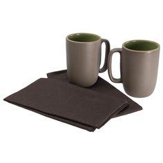 Heath Ceramics Coffee Mug Set. $89 Coffee Mug Sets, Mugs Set, Heath Ceramics, Ceramic Design, Cookware, Attitude, Favorite Things, Household, Dishes