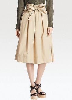 Paperbag Skirt von Uniqlo