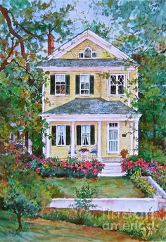 81 Best Antique Home   Landscape Art images in 2019  f97f22d73eaa4