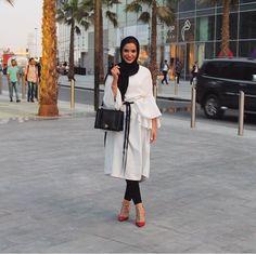 beautiful, hijab, and style image