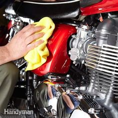 <p>Whether you're selling your bike or just want it to look its best, detailing a motorcycle pays big dividends. Here's a collection of detailing tips from a professional. Suds away!</p>