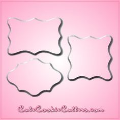 Plaque Cookie Cutters - $14.99