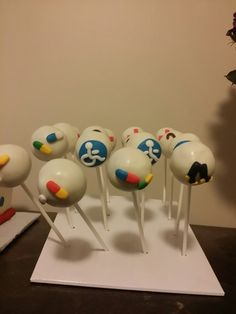 Old Man's Survival Cake Pops