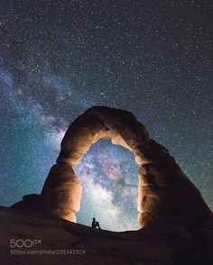 Lost in stardus  Arches NP USA  www.tomashavel.com | Instagram  Camera: Canon EOS 6D Lens: EF16-35mm f/4L IS USM  Join the Milky Way Group http://ift.tt/2sf2DTT and share your Milky Way creations or findings with the world! Image credit: http://ift.tt/2zwkdHD Don't forget to like the page or subscribe for more Milky Imagery!  #MilkyWay #Galaxy #Stars #Nightscape #Astrophotography #Astronomy