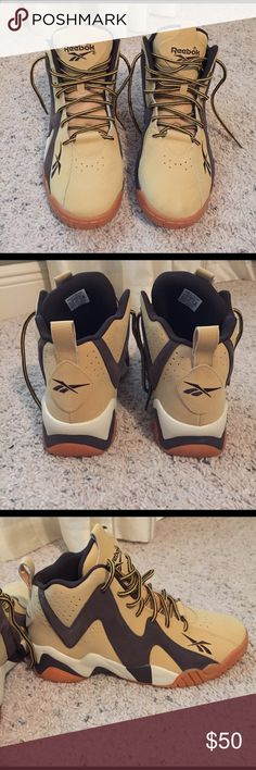 Reebok Kamikaze II excellent used condition. worn once. Reebok Shoes Sneakers