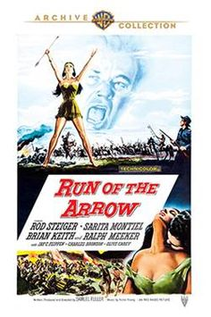Run of the Arrow - DVD-R (Warner Archive On Demand Region 1) Release Date: Now Available (Movies Unlimited U.S.)