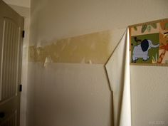 Pickup Some Creativity: Wallpaper removal tips